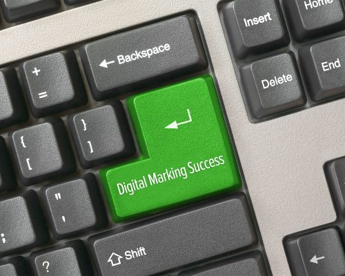 Digital-Marketing-keyboard